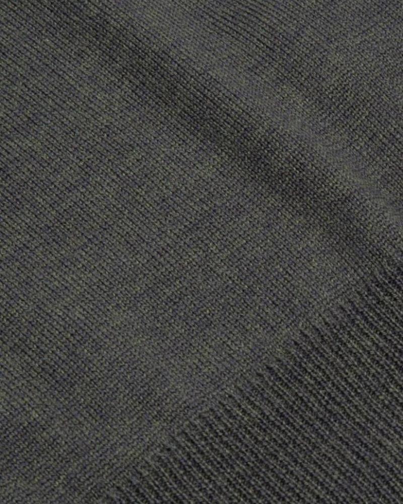 CAVALLARO 1885006 Merino Roll Neck Pullover Dark Green