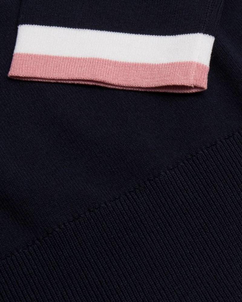 CAVALLARO 5885008 Crocette Pullover Dark blue