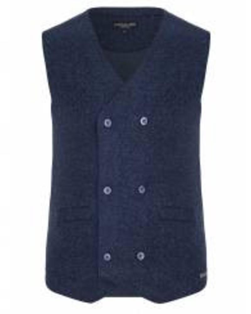 CAVALLARO 1585002 Bronto Waistcoat Dark Blue