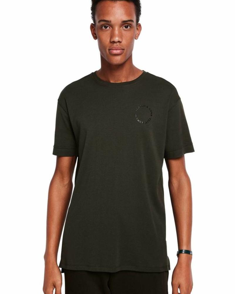 Scotch&Soda 147892 2522 Club Nomade clean S/S tee in rich cotton