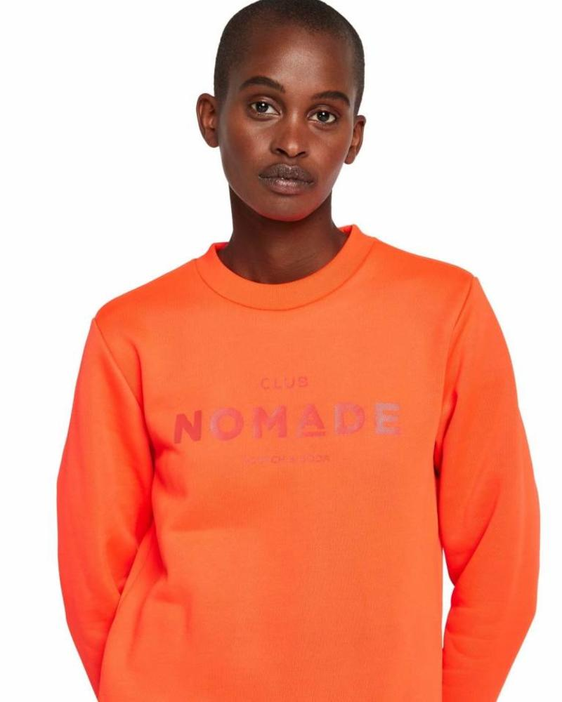 SCOTCH & SODA 147745 2537 Club nomade crew neck sweat with chest artwork