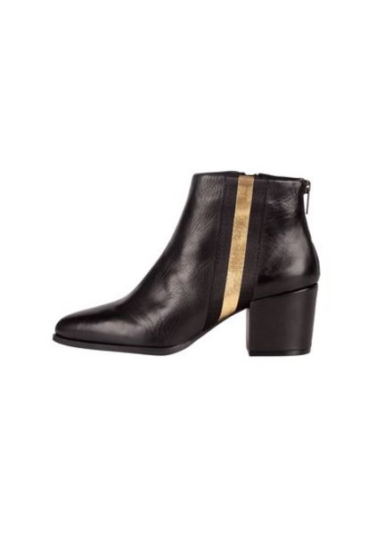 SPM Nanny Ankle Boot Sheep Nappa Black