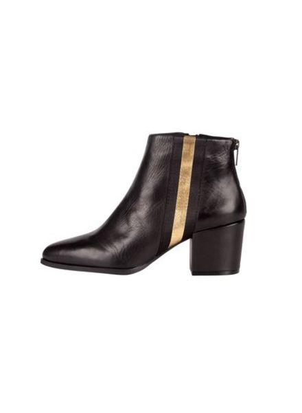 SPM Nanny Ankle Boot Sheep Nappa Black