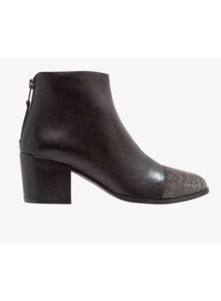 SPM Nantoe Ankle Boot Nappa Full Grain Black