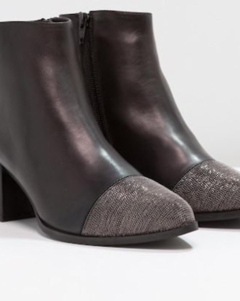 Nantoe Ankle Boot Nappa Full Grain Black