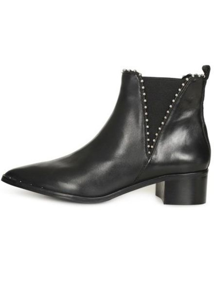 SPM Ballemi Ankle Boot Nappa Full Grain Black