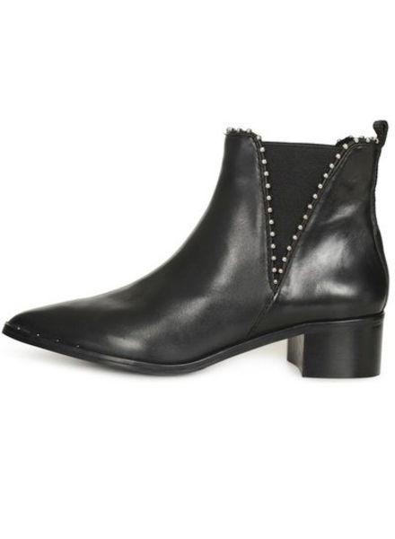 SPM Ballemi Ankle Boot Nappa Full Grain Black
