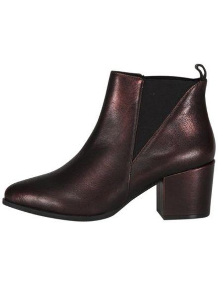 Nelsea Ankle Boot Lumiere Bordeaux
