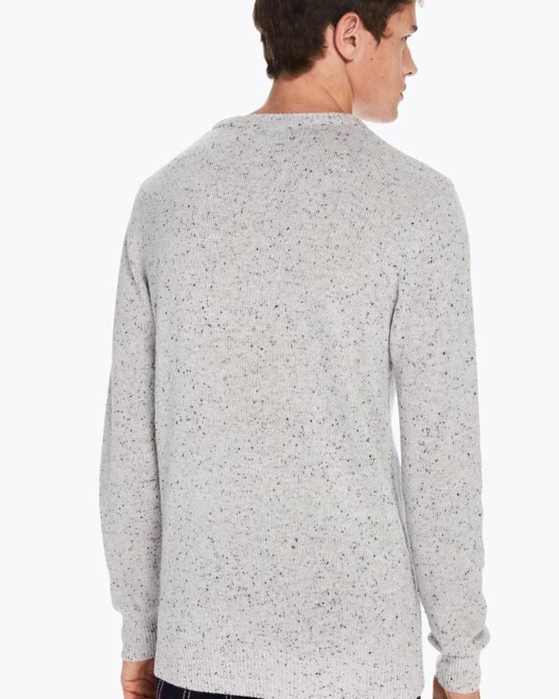 Scotch&Soda 145591 Crewneck pullover in wool blend quality with neps 0217
