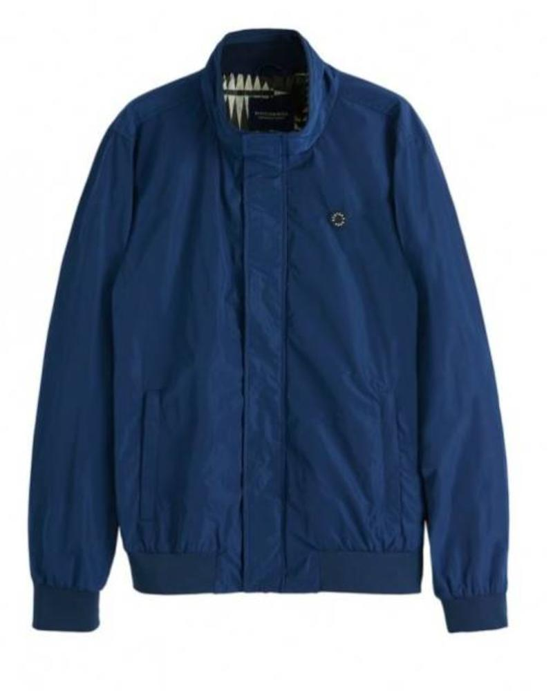 Scotch&Soda 148081 2674 Ams Blauw simple harrington jacket