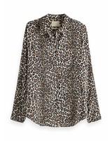SCOTCH & SODA 149773 Oversized boxy fit cotton viscose shirt in various prints