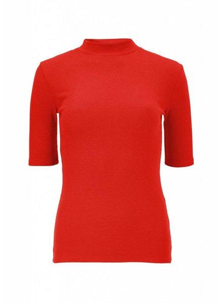 MODSTRÖM Krown t-shirt, t-shirt 01136 fire red