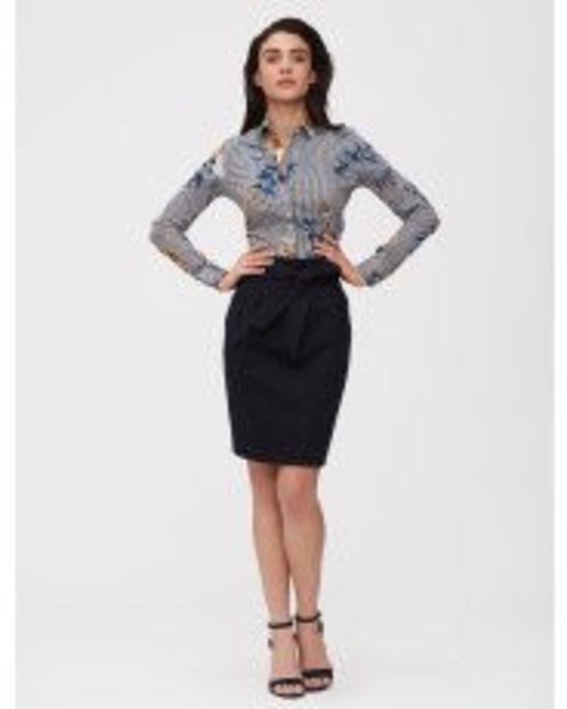 CAVALLARO DAMES 6291003 Adriana skirt dark blue