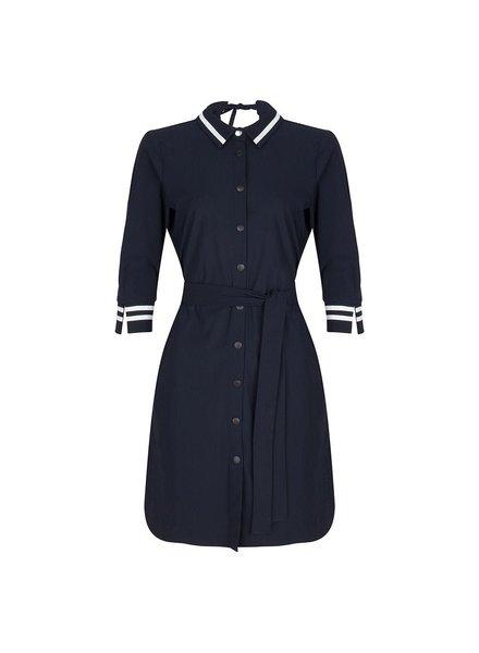 JANE LUSHKA U919SS101 overhemd jurk blue