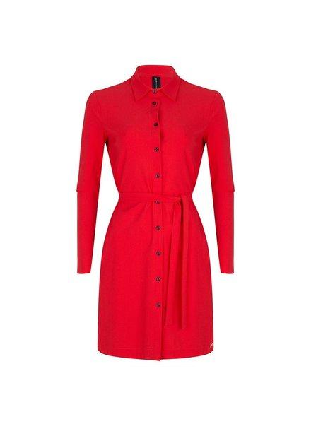 JANE LUSHKA U919SS120 overhemd jurk red