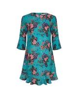 ESQUALO SP19.32002 Dress multi flower Print 999