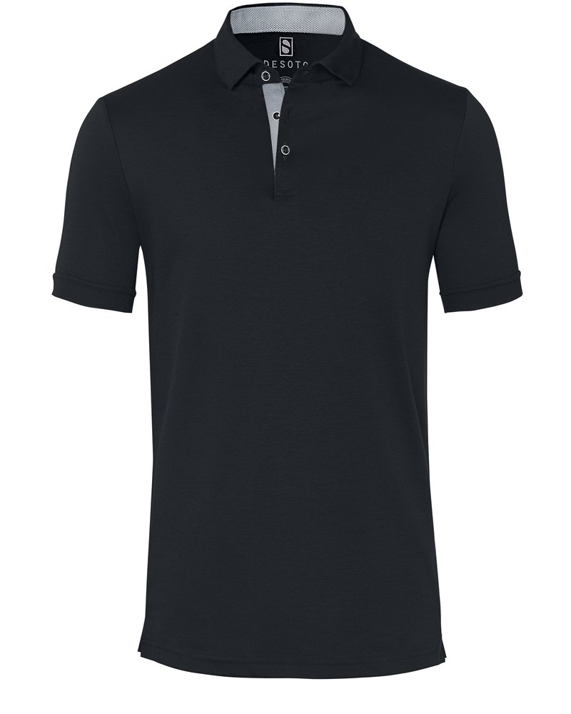 DESOTO 90038-3 081 Polo hai seasonal solids/black