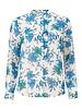 MODSTRÖM Noho print LS top, blouse  11786 morning glory