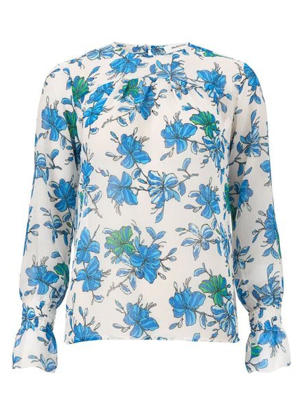 MODSTRÖM Noho print shirt, shirt 11786 morning glory