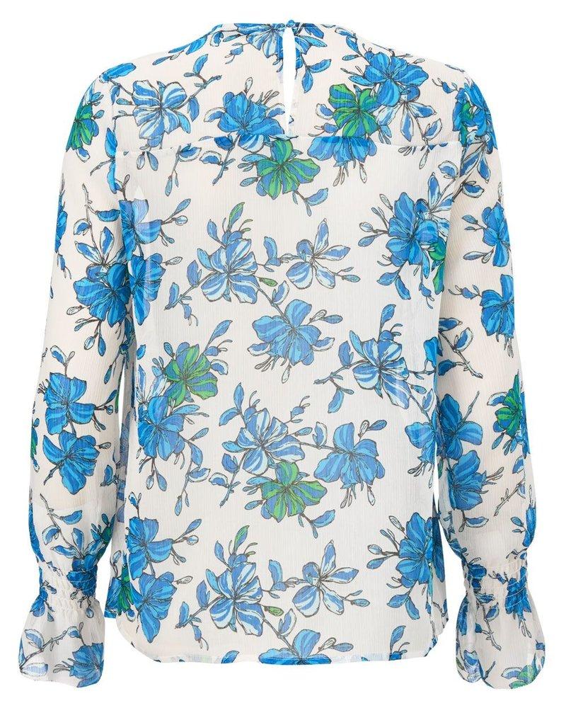 MODSTRÖM Noho print shirt, shirt 11786 morning glory