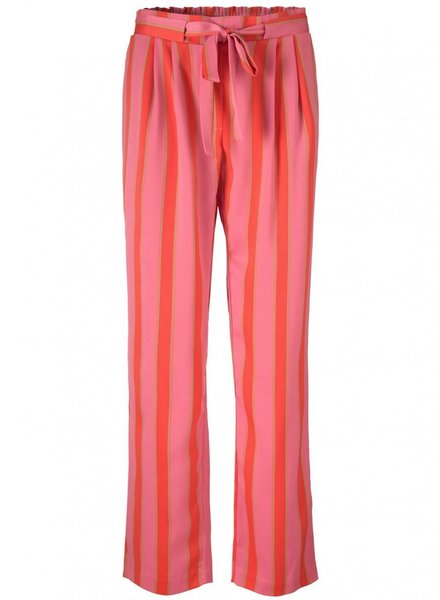 MODSTRÖM Nadine print pants, fashion pants 11735 regency stripe
