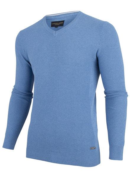 CAVALLARO 1891003 Ludo pullover mid blue