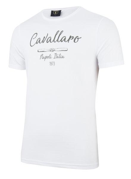 CAVALLARO 1791007 Andreo tee white
