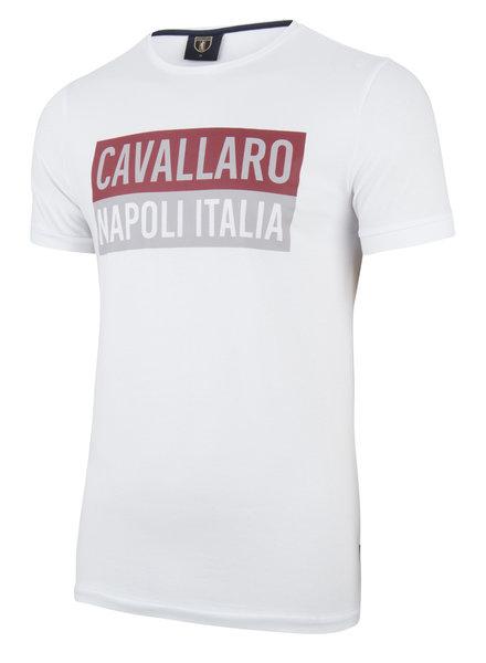 CAVALLARO 1791005 Augusto tee white