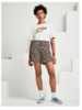 SCOTCH & SODA 151175 longer length chino shorts, sold with a belt