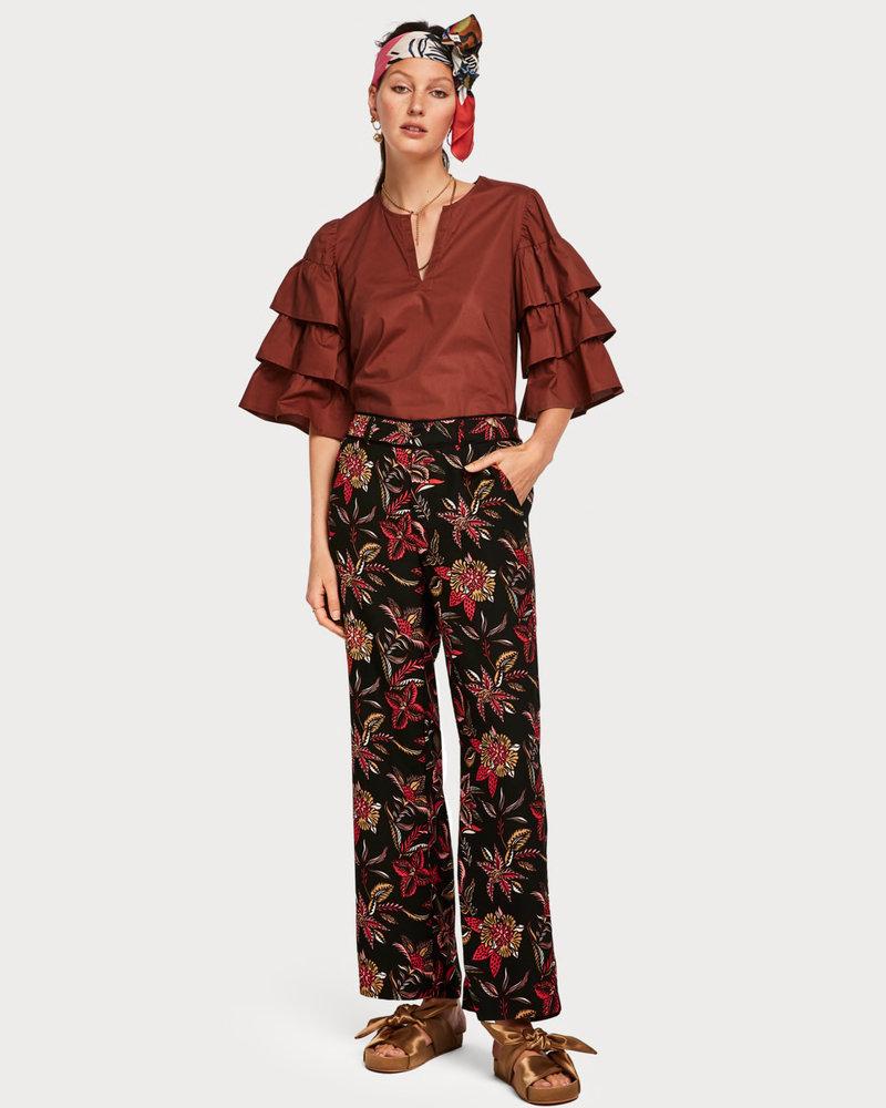 SCOTCH & SODA 149894 tailored wide leg pants