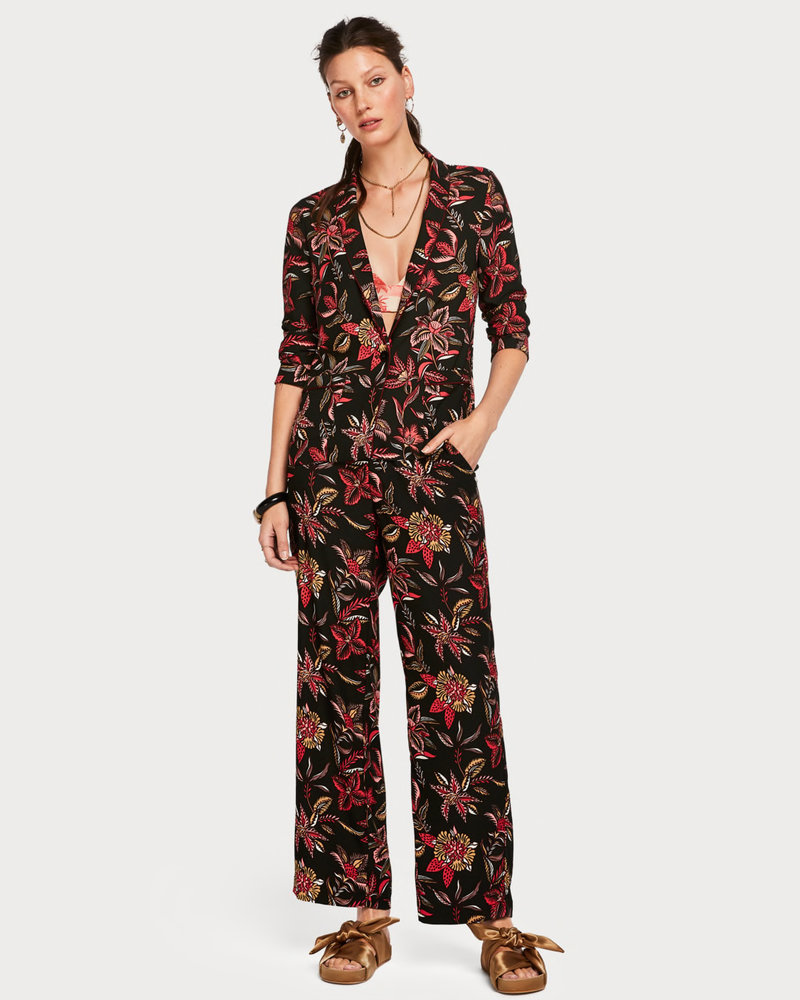 SCOTCH & SODA 150032 drapey blazer in various prints