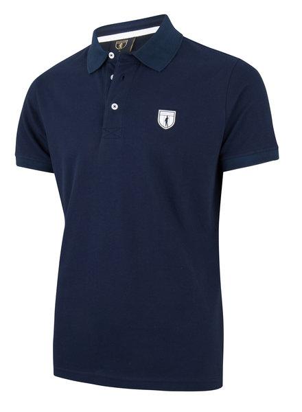 CAVALLARO 1691002 Basic polo dark blue