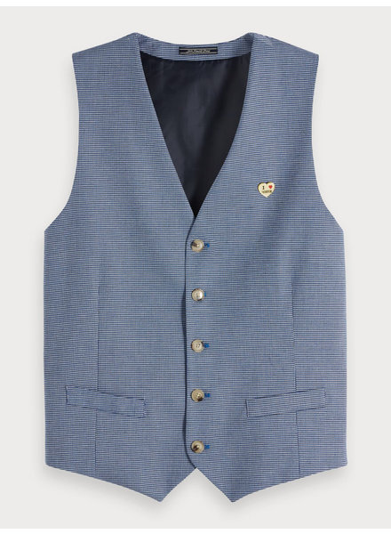 Scotch&Soda 148742 Classic gilet in yarn-dyed quality 0218
