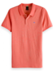 Scotch&Soda 133714 Classic two-tone polo in clean pique quality with pop logo p 3147