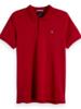 Scotch&Soda 149073 Classic clean pique polo with pop logo print 0737