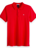 Scotch&Soda 149073 Classic clean pique polo with pop logo print 2762