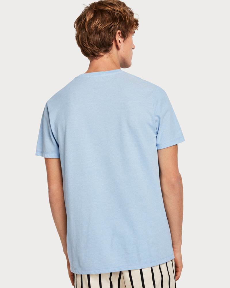 Scotch&Soda 149056 Crewneck tee in lightweight pique quality 0886