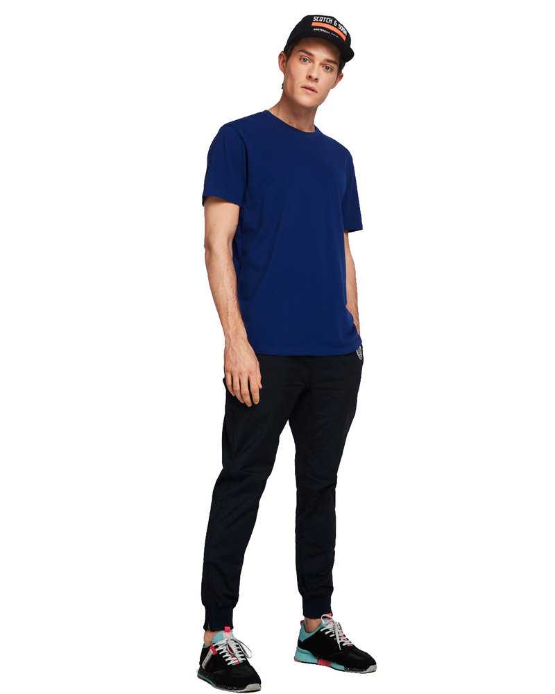 Scotch&Soda 149056 Crewneck tee in lightweight pique quality 0004