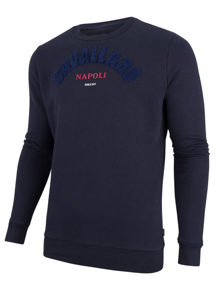 CAVALLARO 2091002 Studio sweat dark blue