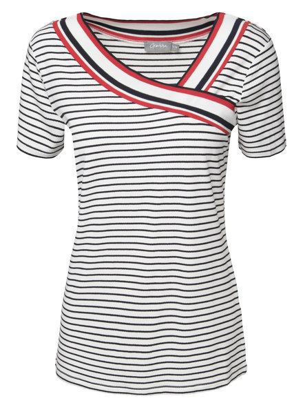 GEISHA 92011-24 t-shirt 000675 navy/white