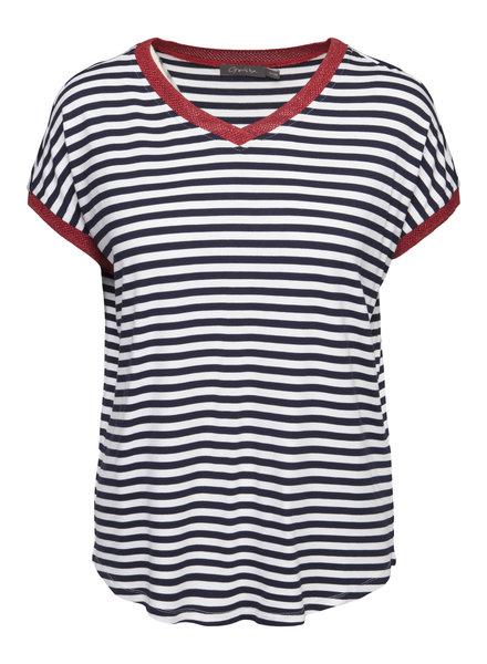 GEISHA 92080-70 t-shirt 000675 navy/white/red