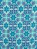 ESQUALO HS19.30202 top caleidoscope SJ blue