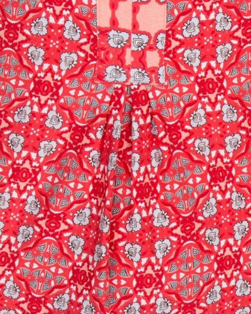 ESQUALO HS19.30200 Dress caleidoscope SJ red