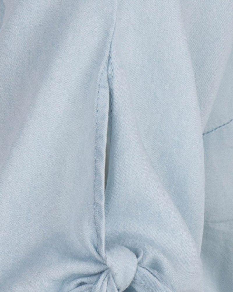 ESQUALO HS19.16205 Dress tencel wrap around