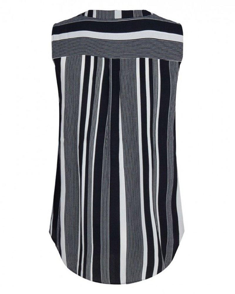 ESQUALO HS19.14220 Blouse stripe