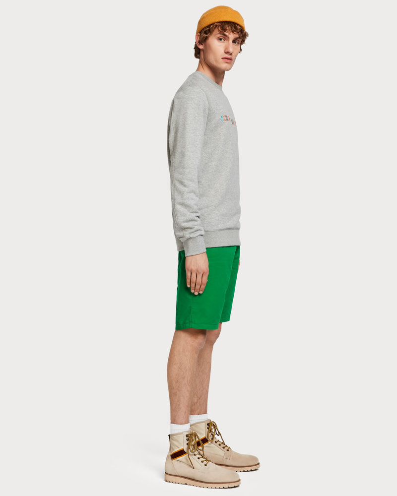 Scotch&Soda 148907 Classic chino short in pima cotton quality 0896