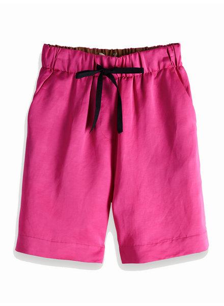 SCOTCH & SODA 149971 longer length shorts in viscose-linen quality