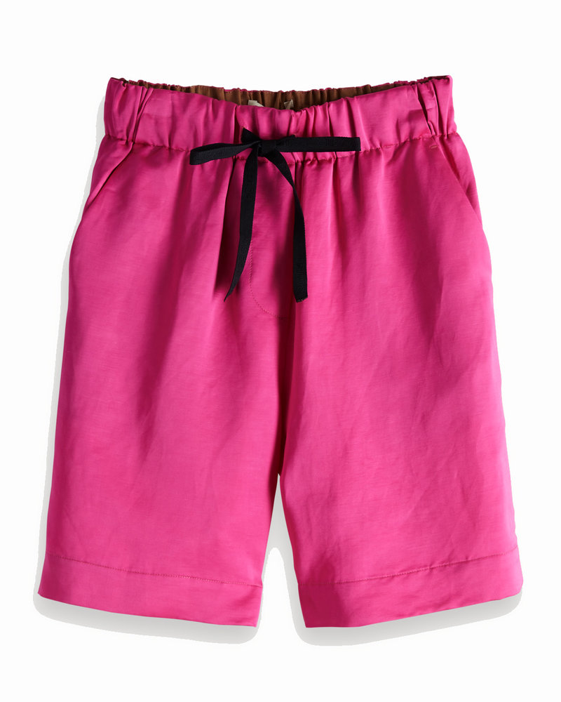 SCOTCH & SODA 149971 longer length shorts in viscose-linen quality