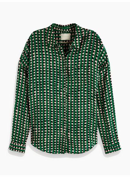 SCOTCH & SODA 149789 oversized boxy fit cotton viscose shirt in various prints