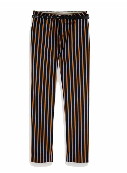 SCOTCH & SODA 149899 Classic tailored pants, sold with a belt